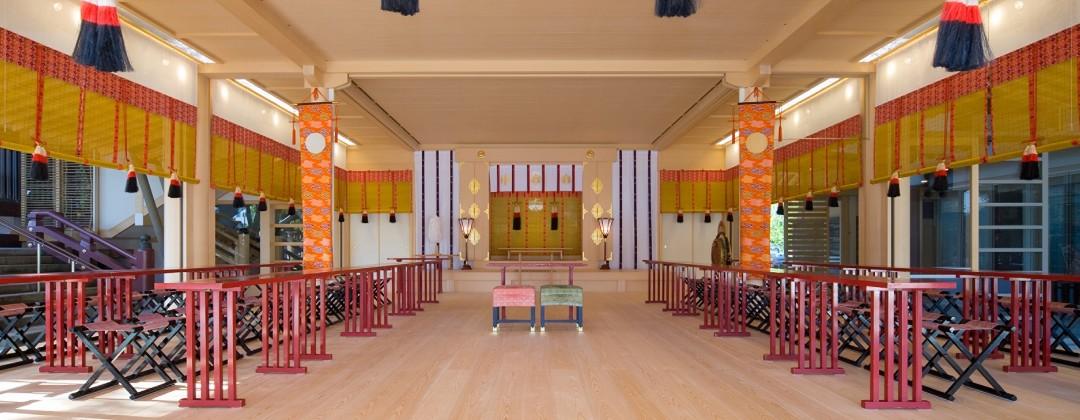 神明神社 参集殿 juju