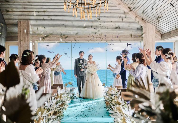 オーシャン リゾート マリゾンで結婚式 結婚スタイルマガジン